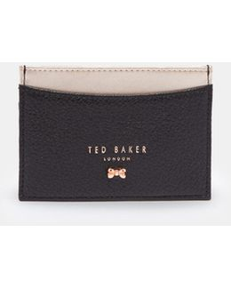 Bow Detail Card Holder