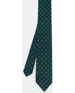 Marl Spot Silk Tie