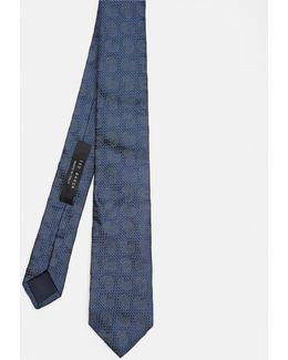 Woven Paisley Silk Tie