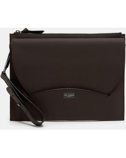 Rubber Leather Pouch