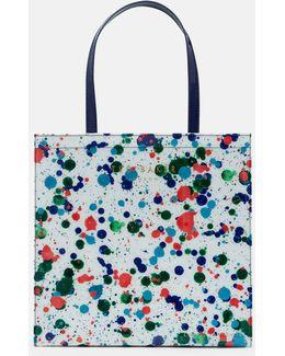Cbn splash Print Shopper Bag