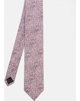 Ditzy Floral Silk Tie