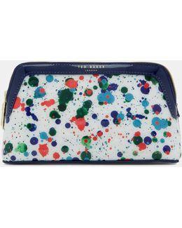 Cbn Splash Print Small Washbag