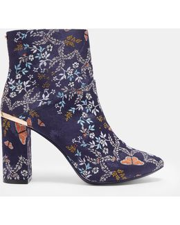 Kyoto Gardens Heeled Ankle Boots
