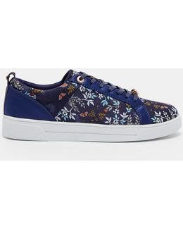 Kyoto Gardens Woven Jacquard Trainers
