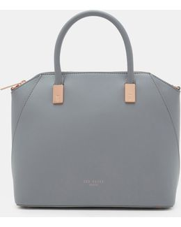Leather Small Tote Bag