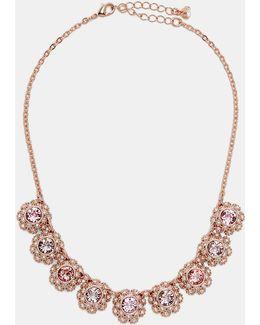 Tbj1579 Daisy Lace Necklace