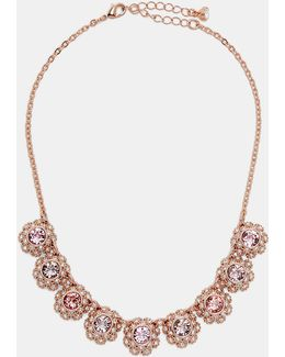 Tbj1579 Daisy Lace Necklace