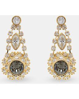 Swarovski® Daisy Lace Drop Earrings