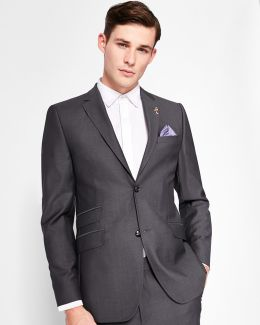 Sterling Micro Checked Wool Jacket