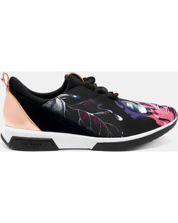 Eden Printed Trainers
