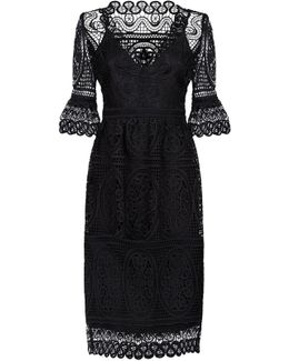 Titania Lace Sleeved Dress