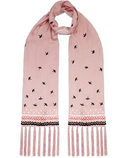 Foxglove Accessories Bird Dinner Scarf