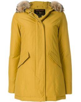 Lined Hood Coat