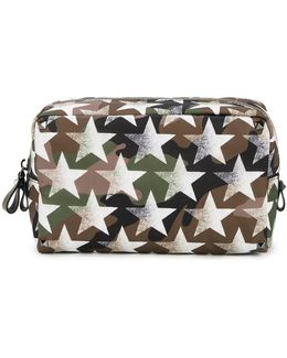 Camouflage And Stars Beauty Case