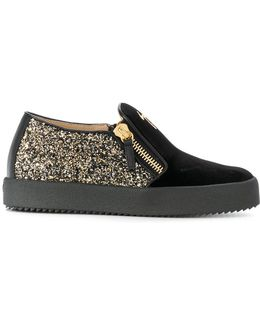 May London Suede Leather Slip On