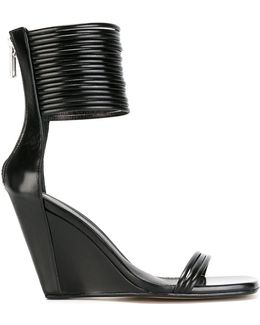 Mignon Ankle Strap Wedge