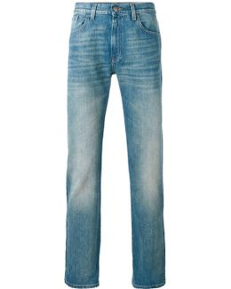 Stonewashed Web Jeans