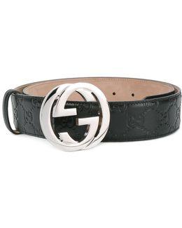 Logo Buckle Belts