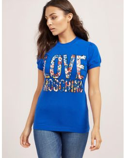 Floral Short Sleeve T-shirt