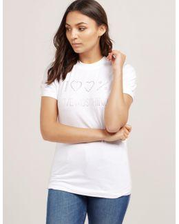 Diamante Short Sleeve T-shirt