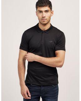 Jersey Short Sleeve Polo Shirt