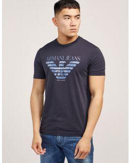 Large Eagle Logo Short Sleeve T-shirt
