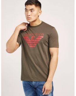 Large Eagle Logo Short Sleeve T-shirt