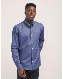 Tailored Fit Long Sleeve Oxford Shirt