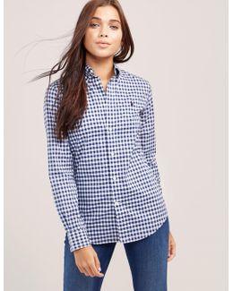 Kendal Gingham Long Sleeve Shirt