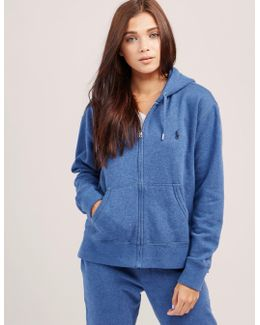 Faux Full Zip Hoody