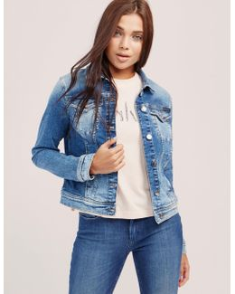 Jet Trucker Denim Jacket