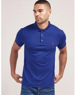 Stretch Short Sleeve Polo Shirt
