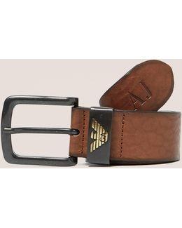 Leather Eagle Belt