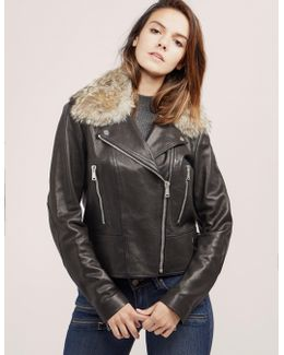 Blouson Fur Jacket