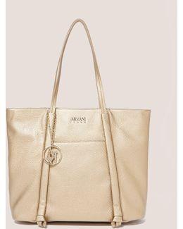 Metallic Shopper Bag