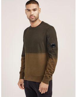 Dip Dye Crew Neck Sweatshirt