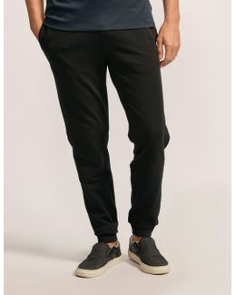 Stretch Fleece Cuffed Track Pant