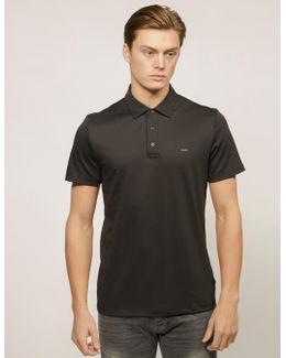 Sleek Short Sleeve Polo Shirt