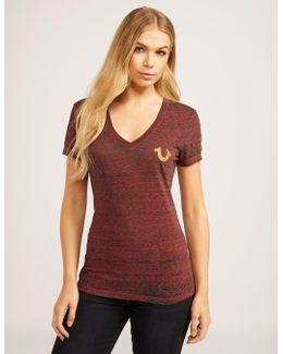 Vintage Buddha Slim Short Sleeve T-shirt