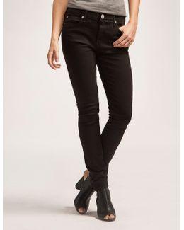 Halle Mid Rise Super Skinny Jean