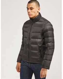 Quilt Zip Up Bubble Jacket