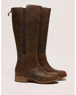 Vinson Zip Leather