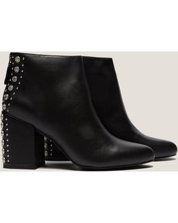 Suede Stud Boot