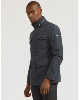Four-pocket Fleeced Jacket