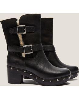 Brea Clogg Stud Boot