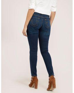 Halle Basic Mid Rise Jean