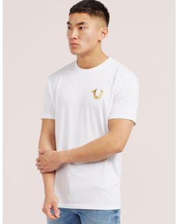 Gold Puff Short Sleeve T-shirt