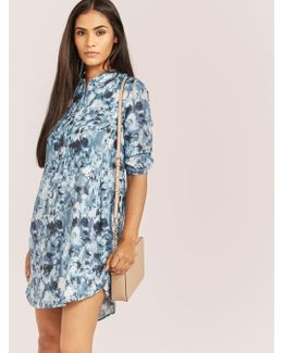 Floral Shirt Dress