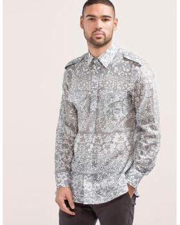 Military Shirt Grey